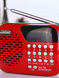 Terukuni kk69 radio portable voiture de carte audio
