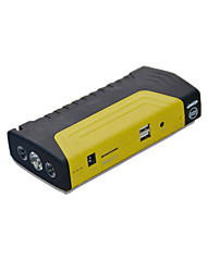 12V Multi-Function Car Emergency Start Power Supply (Note 12000mAh Black  Yellow)