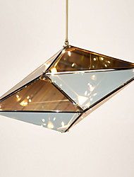The Nordic Ikea droplight Creative Diamond Glass lamp Hotel Restaurant Club bar lamps And lanterns
