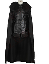 Cosplay Costumes Movie/TV Theme Costumes Movie Cosplay Black Solid Cloak Halloween Unisex Uniform Cloth