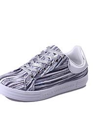 Homme-Décontracté-Bleu / Vert / ArgentOthers-Sneakers-Cuir
