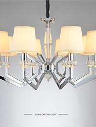 Pendelleuchten ,  Zeitgenössisch Galvanisierung Eigenschaft for Kristall Designer MetallWohnzimmer Schlafzimmer Esszimmer