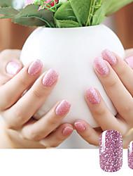 1sheet Nail Sticker Art Autocollants de transfert de l'eau Maquillage cosmétique Nail Art Design