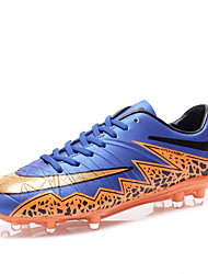 Femme-Décontracté / Sport-Noir / Bleu / Vert / Blanc / Argent / Orange-Talon Plat-Confort-Chaussures d'Athlétisme-Microfibre