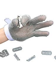 geringe Größe fünf Finger Edelstahl schnittfeste Handschuhe