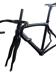 NEASTY RB28 Carbon Fiber Road Bike Framesets 3K Weave Matte Finish Frame/Seat Post/Saddle/Handlebar/Headset