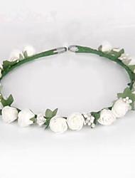 Mulheres Espuma Tecido Capacete-Casamento Ocasião Especial Flores 1 Peça
