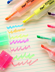 Markers & Highlighters Pen Water Color Pens Pen,Plastic Barrel Ink Colors For School Supplies Office Supplies Pack of