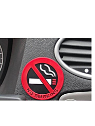 No Smoking Logo Stickers Single PriceA Pack of Ten