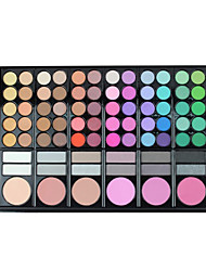 78 Eyeshadow Palette Dry / Mineral Eyeshadow palette Powder Set Daily Makeup / Halloween Makeup / Party Makeup