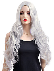 Silver Of Curly Hair COS WIG
