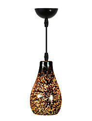 40W Pendant Light ,  Modern/Contemporary Electroplated Feature for Mini Style Glass Dining Room / Study Room/Office