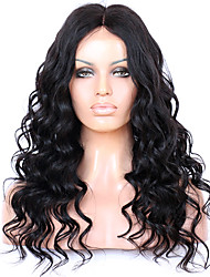 8 to 24 Inches Brazilian Human Hair New Loose Wave Wigs Glueless Lace Front Wigs For African American Women