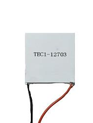 semicondutores arrefecimento filme tec1-12703 40 * 40mm 12V3A (nota de embalagem 5)