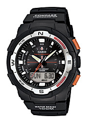 CASIO Outdoor Sports Multifunction Mountaineering Waterproof Electronic Men's Watch with BeltStudents Watch SGW-500H-1B