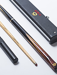 Omin Dragon Well Snooker Cue Professional 3/4 Black Ebony Butt Ash shaft Handmade Billiard