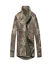 Hiking Tops Men's Breathable / Thermal / Warm / Windproof Winter Memory Foam Camouflage / Army Green S / M / L / XL / XXL / XXXLClimbing