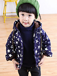 Boy's Casual/Daily Galaxy Suit & BlazerCotton Winter Blue