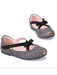 Girls' Flats Light Up Shoes PU Casual Sliver
