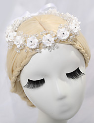 Women's / Flower Girl's Alloy Headpiece-Wedding Tiaras