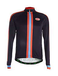 Sports Cycling Jersey Men's Long Sleeve Breathable / Thermal / Quick Dry / Back Pocket / Ultra Light Fabric Bike