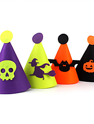(Color Random)1PC Hallowmas Hat Decorate  Hallowmas Costume Party