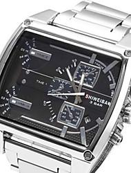 Hombre Reloj Deportivo / Reloj Militar / Reloj de Vestir / Reloj de Moda / Reloj de Pulsera Cuarzo JaponésCalendario / Resistente al Agua