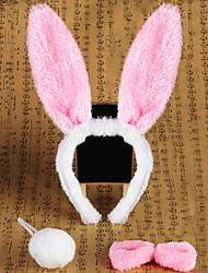 Товары для Хэллоуина / Головной убор Rabbit Товары для отпуска Halloween / Маскарад 3 Pcs