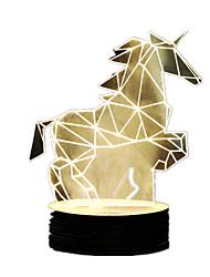 3D Stereoscopic Table Lamp New Peculiar Acrylic LED Lamp