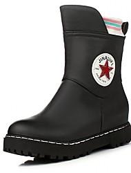 Feminino-Botas-Plataforma / Botas de Cowboy / Botas de Neve / Botas Cano Curto / Botas Montaria / Botas da Moda / Botas de Motocicleta /
