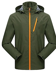 Wandern Softshell Jacken Herrn Wasserdicht / Atmungsaktiv / warm halten / Windundurchlässig / tragbar Frühling / Sommer / Herbst Terylen