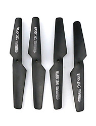 JJRC Propellers RC Quadcopters Black Plastic 4PCS