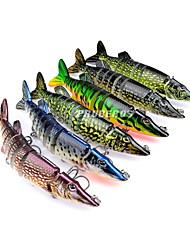 1 pcs Poissons nageur/Leurre dur / leurres de pêche Poissons nageur/Leurre dur Couleurs Aléatoires 20 g Once mm pouce,Plastique durPêche
