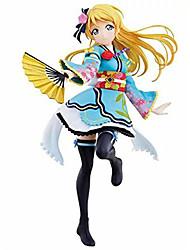Люблю жить Eri Ayase PVC 15cm Аниме Фигурки Модель игрушки игрушки куклы