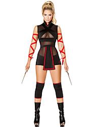 4pcs Ninja Striker Costume