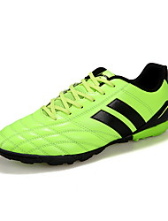 Soccer Shoes Anti-Slip Anti-Shake/Damping Breathable Wearproof Outdoor Low-Top PVC Leather Soccer/Football