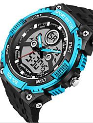 Masculino Relógio Esportivo / Relógio Militar / Relógio Inteligente / Relógio de Moda / Relógio de Pulso Digital / Quartzo JaponêsLED /