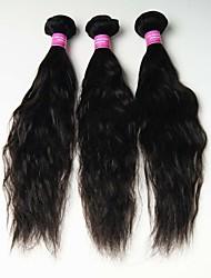 3 Pièces Ondulation Naturelle Tissages de cheveux humains Cheveux Malaisiens 0.3kg 8-30 inch Extensions de cheveux humains