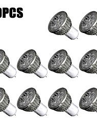 10Pcs GU5.3 Led High power Led Lamp 5W Non Dimmable Led Spot Light Spotlight Led bulb Cold Warm White Free Shipping