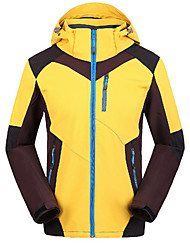 Men's Women's Hiking Softshell Jacket Waterproof Windproof Anti-Insect Breathable Softshell Jacket Windbreaker Top for Camping / Hiking