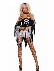 Vampire Festival/Holiday Costumes Dress / Headwear / Gloves  Female Polyester