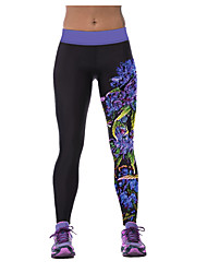 Running Pants/Trousers/Overtrousers / Leggings / Bottoms Women's Quick Dry / Comfortable PolyesterYoga / Exercise & Fitness / Racing /