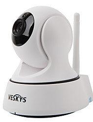 VESKYS® T2 720P 1.0MP Wi-Fi Security IP Camera(Day Night / Motion Detection / Remote Access / IR-cut / Plug and play)