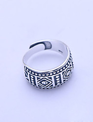 Ring Non Stone Daily / Casual / Sports Jewelry Silver Men Ring 1pc,One Size Silver