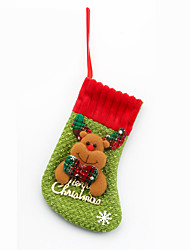 3pcs рождественские украшения для украшения рождественского стола