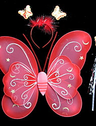Children 'S Performance Clothing Stage Performance Costumes Xingyue Double Butterfly Wings Three - Piece