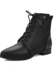 Women's Boots Spring Fall Winter Platform Comfort Novelty Patent Leather Leatherette Wedding Office & Career Dress Casual Party & Evening