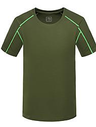 Running Sweatshirt / Tracksuit / Tank Men's Short Sleeve High Breathability (>15,001g) / Comfortable PolyesterExercise & Fitness /