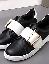 Women's Sneakers Others Leatherette Outdoor Black White
