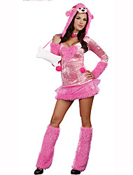 Cosplay Festival/Holiday Costumes Dress / Leg Warmers Female Polyester